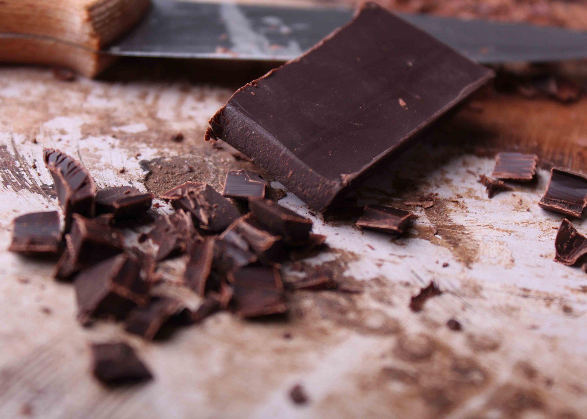 Schokoladenmuffins mit Donautopping
