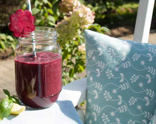 Rote Bete LCHF Smoothie