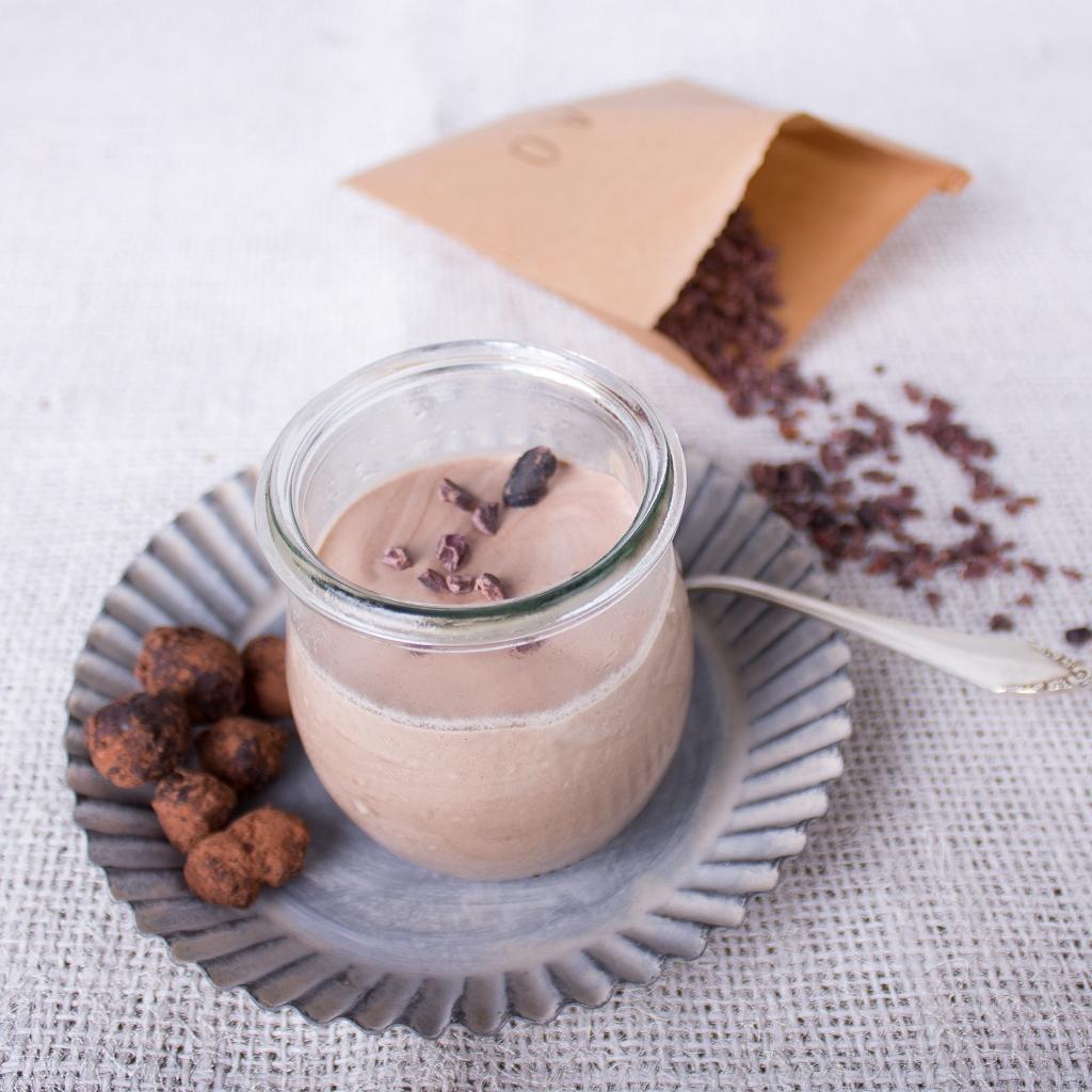 LCHF Dessert - Haselnuss-Parfait