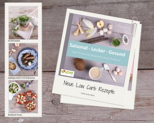 Blick ins Buch: LCHF pur: Saisonal. Lecker. Gesund - ueber 70 Low Carb-Rezepte für Januar & Februar