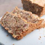 Scheiben vom Low Carb Brot