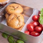 Fuer die Lunchbox: Low Carb Spargel-Muffins