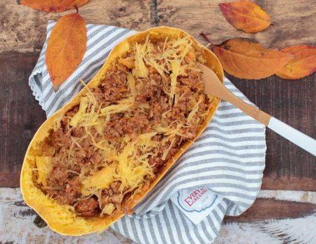 Low Carb Spaghetti-Eintopf